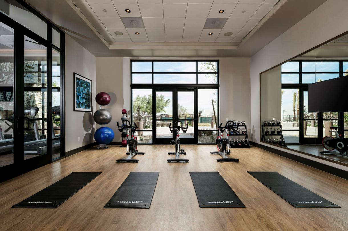 Regency at Summerlin Cycling and Yoga Room - LasVegasRealEstate.com