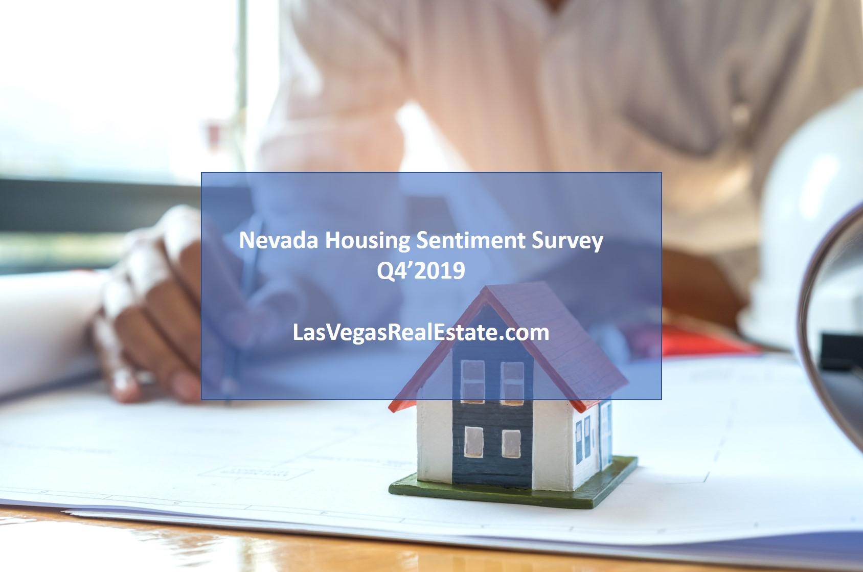 Nevada Housing Sentiment Survey Q4'2019